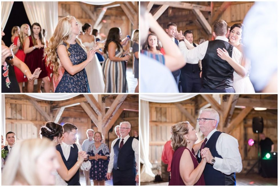 classy wedding at the farmstead nc by hypimages