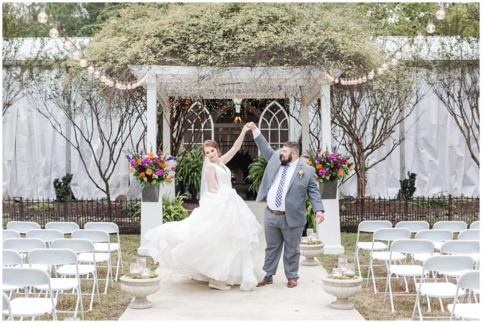 the garden cafe wedding in york SC