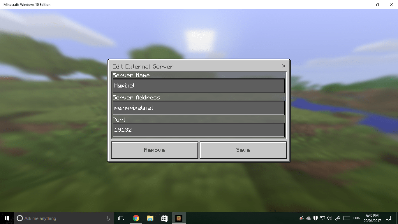 Address Server Pe Minecraft Skyblock Ip