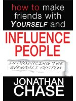 how to make friends with yourself and influence people jonathan chase the hypnotist #hypnoartsbooks