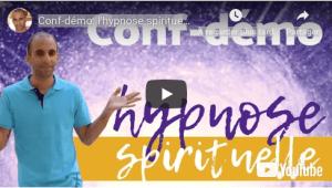 conférence hypnose spirituelle