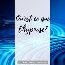 Qu'est ce que l'hypnose