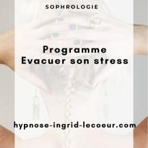 "sophrologie ""évacuer son stress"""
