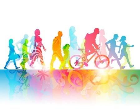bunte bewegung Lebensqualität und Persönlichkeitsentwicklung
