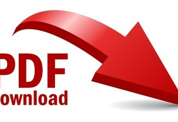pdf dokument mit rotem pfeil