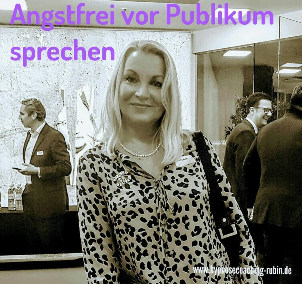 Angstfrei vor Publikum sprechen | Hypnose Coaching Aachen | Ellen Iris Rubin