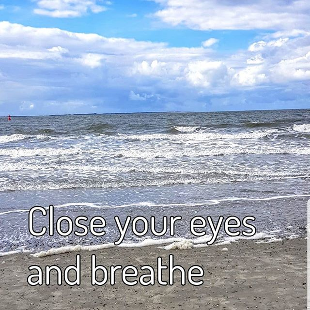 Close Your eyes and breathe