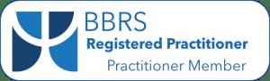 BBRS Registered Practitioner Practitioner Member - Logo
