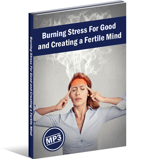 Burning Stress For Good and Creating a Fertile Mind