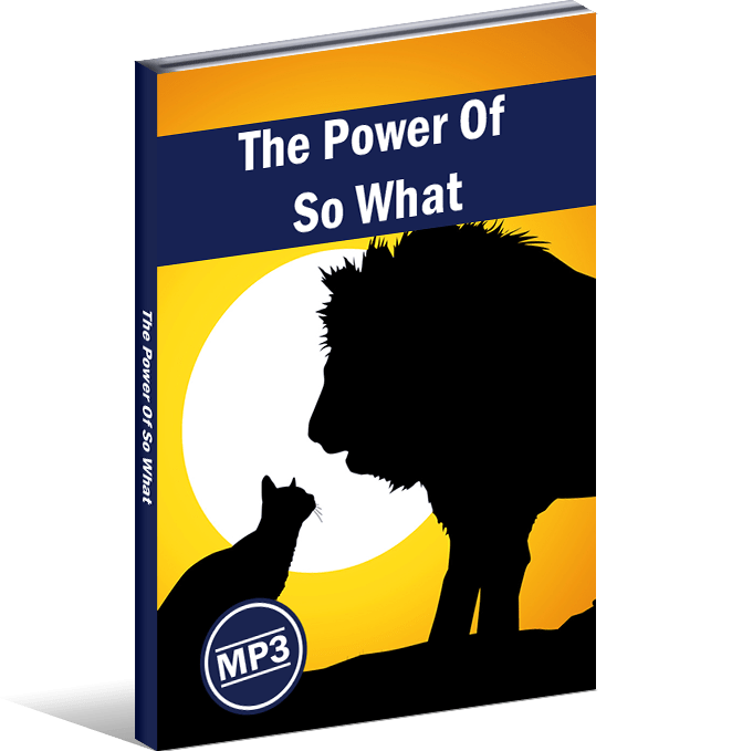 The Power Of So What