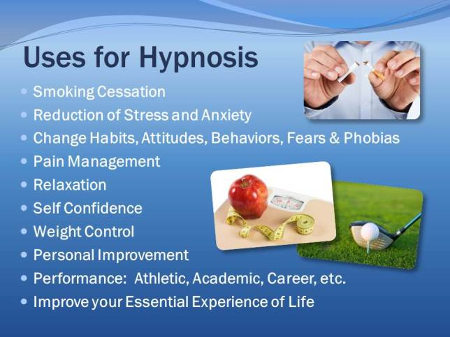 Uses of Hypnotherapy