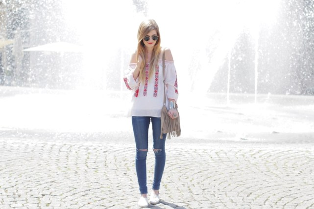 Boho Blouse Outfit 5