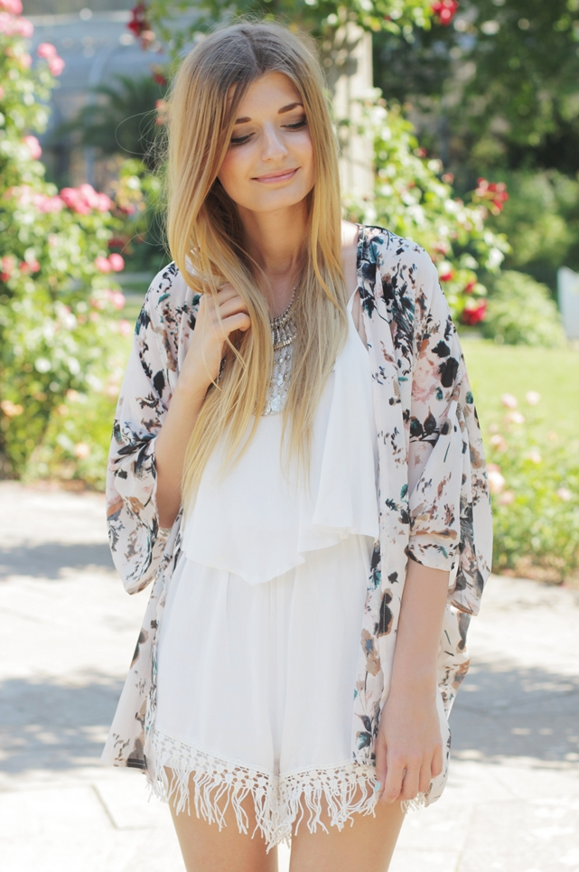 Sommer Outfit Jumpsuit Kimono 8