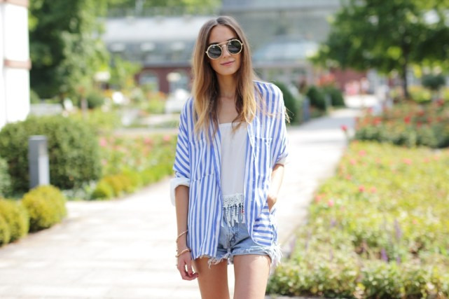Jeans Shorts Outfit Blog 11