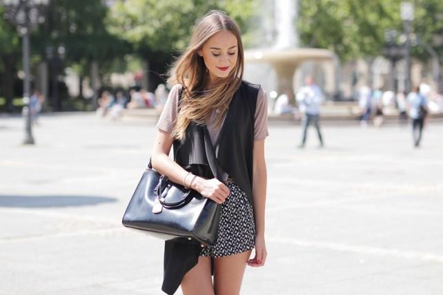 Wasserfallweste Outfit Blog 14