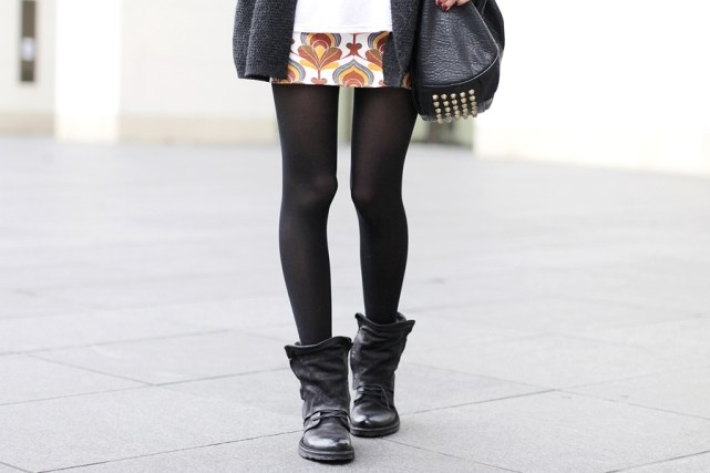 Herbst Outfit Retro Rock 11