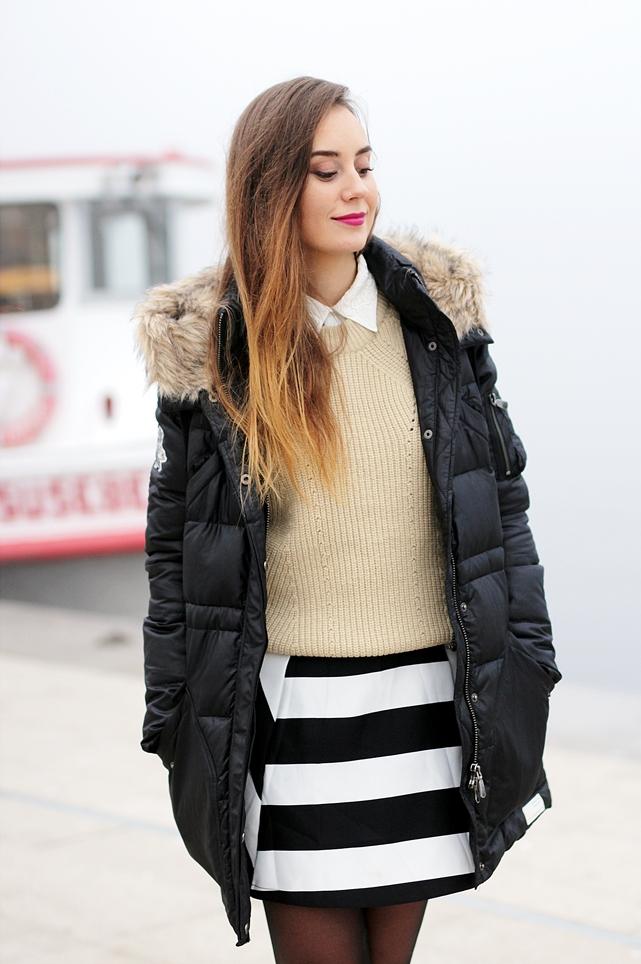 Hypnotized ist ein deutscher Modeblog aus Frankfurt. Modebloggerin Helena zeigt im Winter Outfit mit Winterjacke. Mehr Herbst Outfits gibt es auf dem German Fashion Blog.