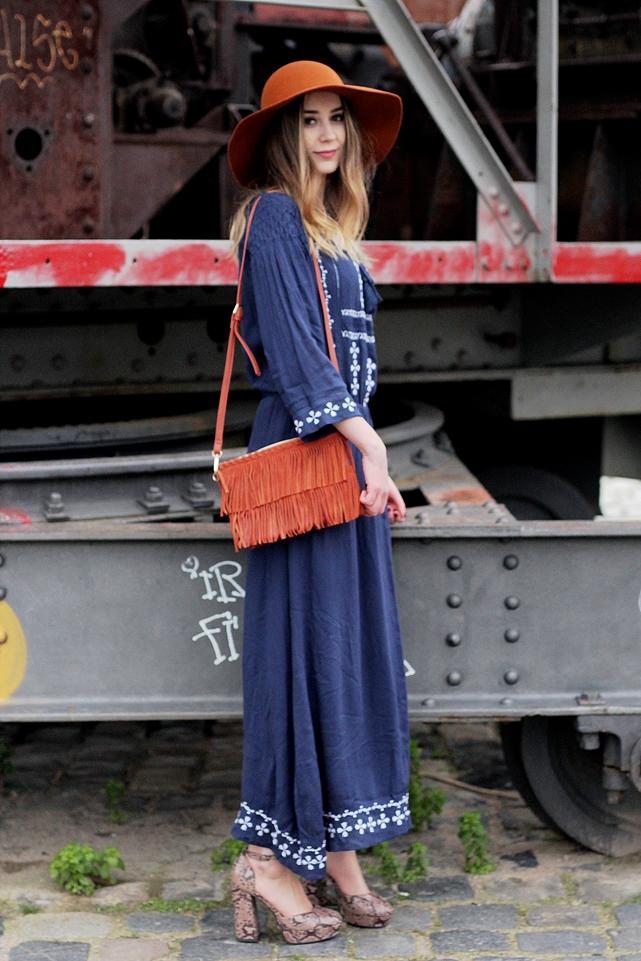 Deutscher-Modeblog-German-Fashion-Blog-Outfit-Boho-Look-Maxikleid-Hut-4