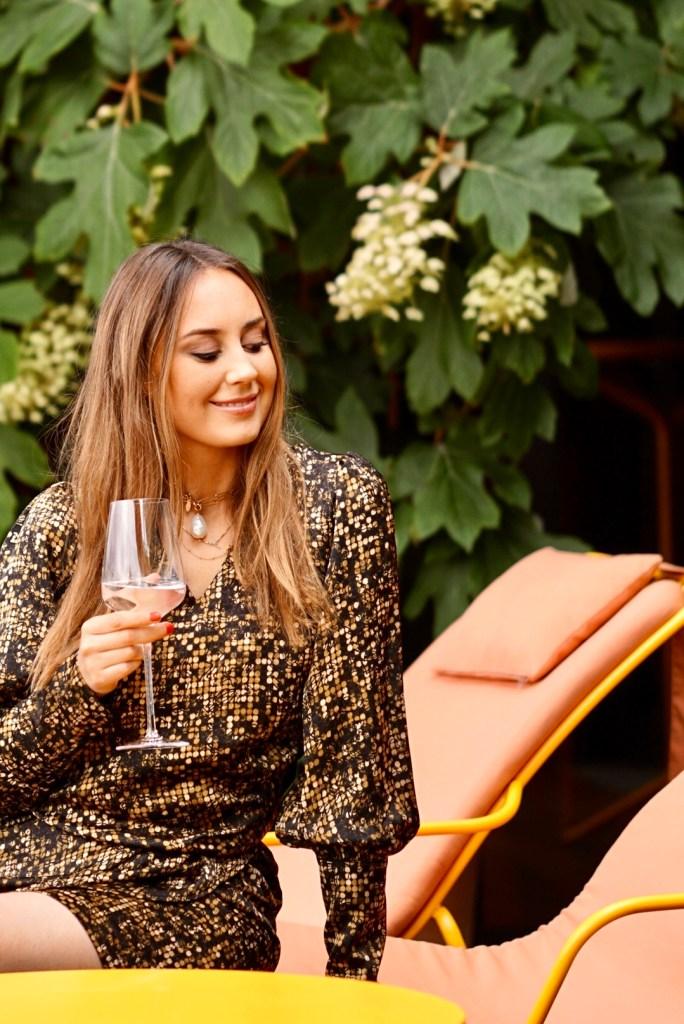 Sommerkleider 2021 Kleid mit Ärmel von skandinavischer Modemarke Nü Denmark