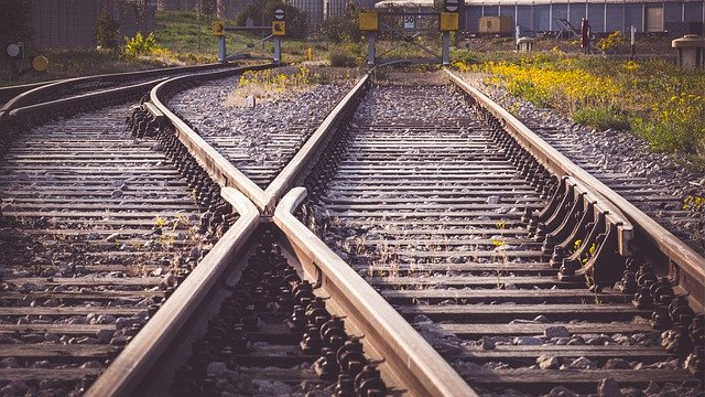 séparation de rails