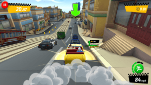 Crazy Taxi: City Rush's cartoonish look complements the gameplay well.