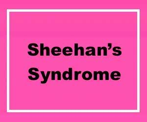 Sheehan's Syndrome Lab Tests