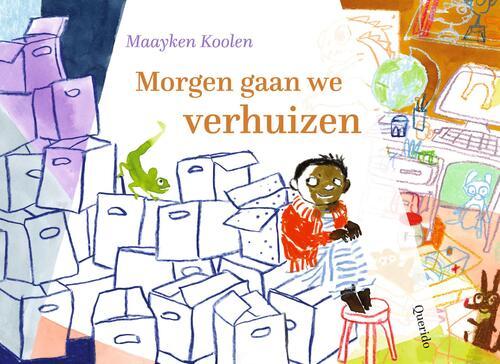 Morgen gaan we verhuizen - Maayken Koolen - Hardcover (9789045126838)