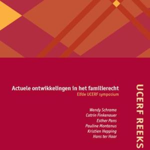 UCERF reeks 11 - Actuele ontwikkelingen in het familierecht Elfde UCERF-symposium