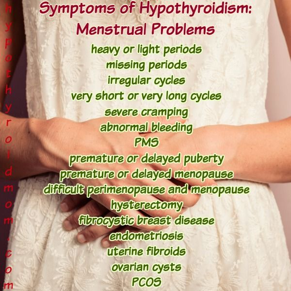 300 hypothyroidism symptoms: count how many you have