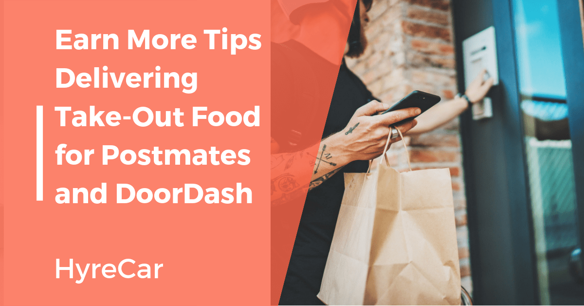postmates food delivery tips
