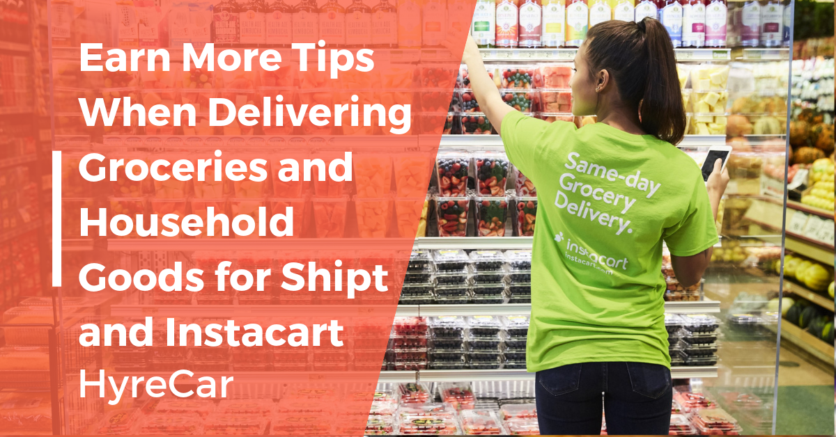 instacart delivery driver tips