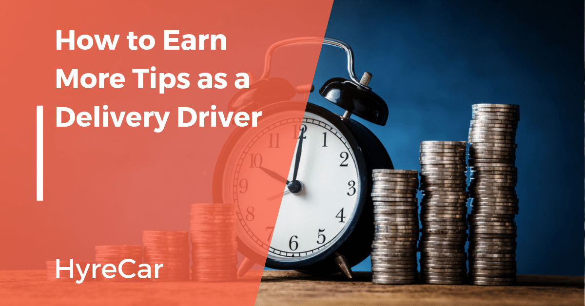 earn more tips delivery driving
