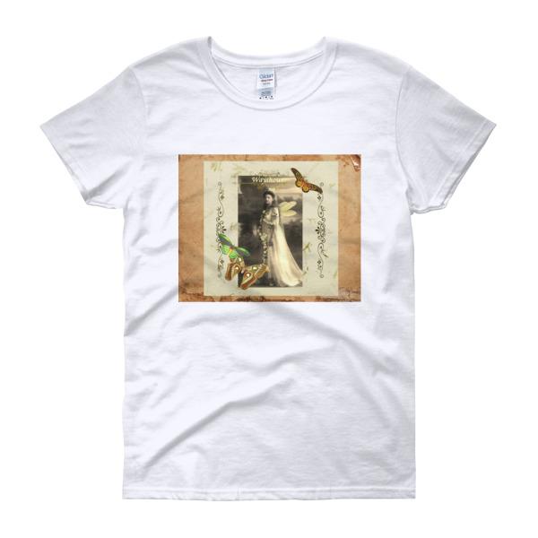 Wayshower Vintage Fairy Women's short sleeve t-shirt