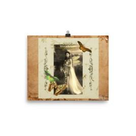 Wayshower Vintage Fairy Poster