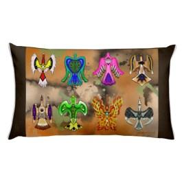 Of All Color Rectangular Pillow