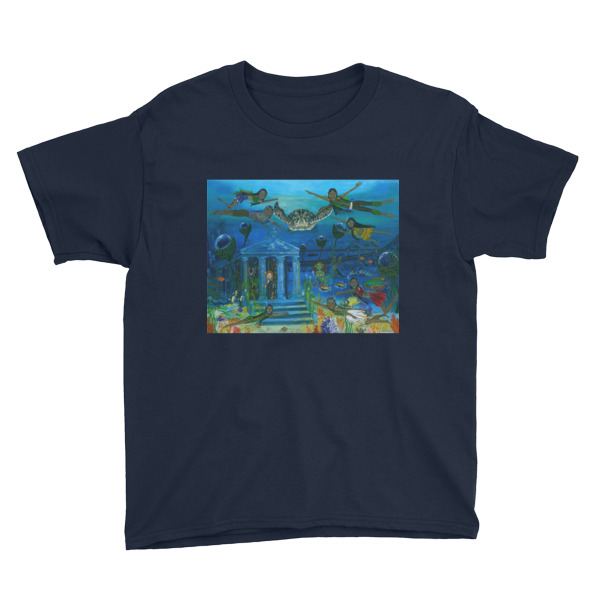 The Little People journey into the Mystic Sea Youth Short Sleeve T-Shirt