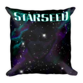 Starseed Square Pillow digital art by Chris DiSano