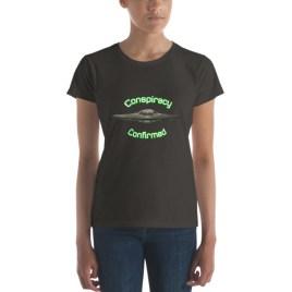 Conspiracy Confirmed UFO Women's short sleeve t-shirt