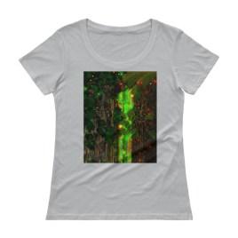 Telepathic Tree Ent's Ladies' Scoopneck T-Shirt