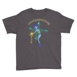 Blue Fairy Key Tee Youth Short Sleeve T-Shirt