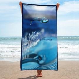 Whale Consciousness Towel