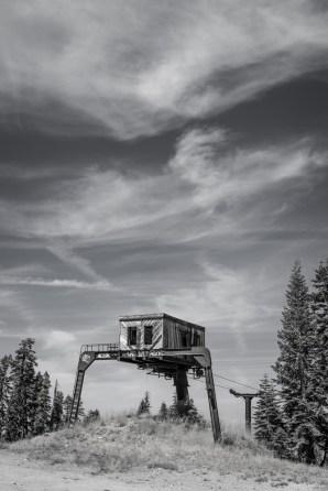 Iron Mountain Ski Resort- Abandoned in 1999.