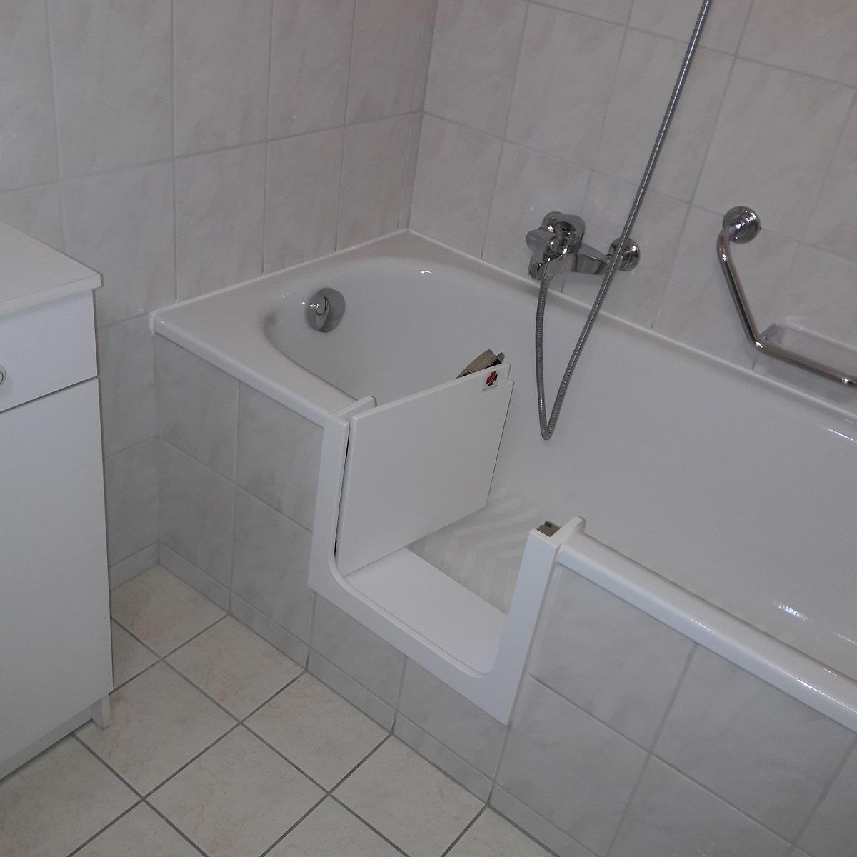 decouvrez egalement notre solution pour transformer votre baignoire en douche