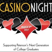 Casino Night Invitation