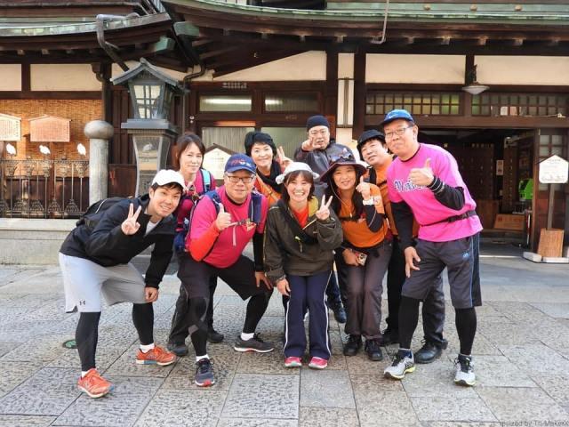 道後温泉「愛媛チャリティ100km歩くぞなもし」100kmウォーキングに参加しました