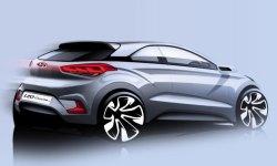 Pierwsze szkice Hyundaia i20 Coupe