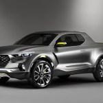 Xe bán tải Hyundai Santa Cruz sẽ được phát triển dựa trên Tucson