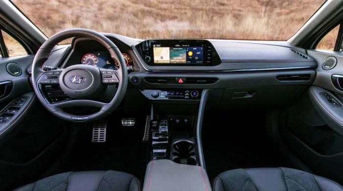2023 Hyundai Sonata N-Line Night Edition Interior