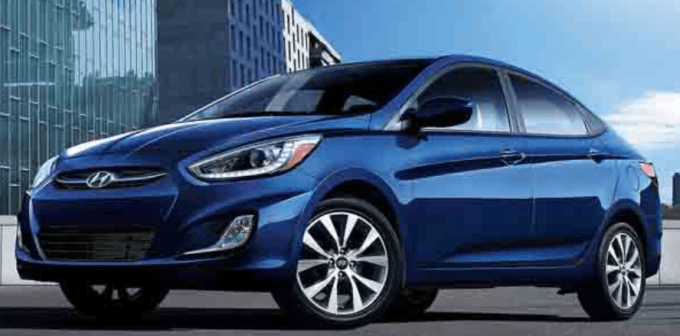 2020 Hyundai Accent Sedan Exterior