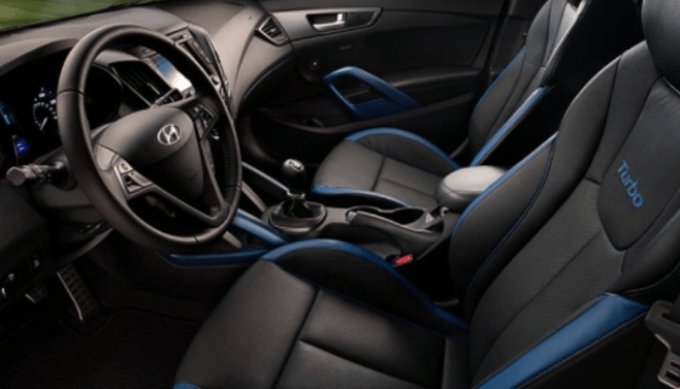 2020 Hyundai Veloster Turbo Interior